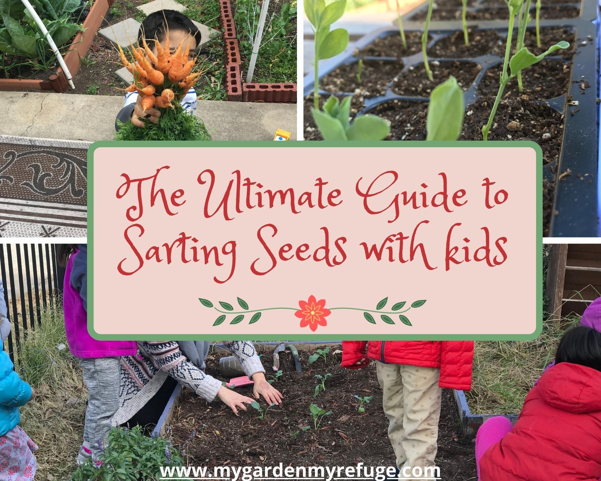 The guide to seed starting with kids