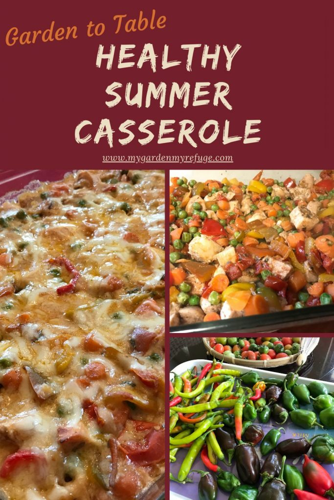 vegetable casserole with Turkish flavors