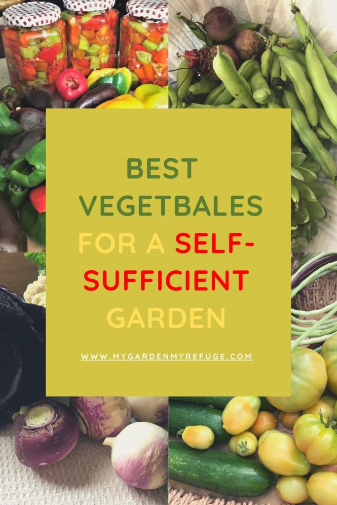 The best crops to grow for a self-sufficient garden
