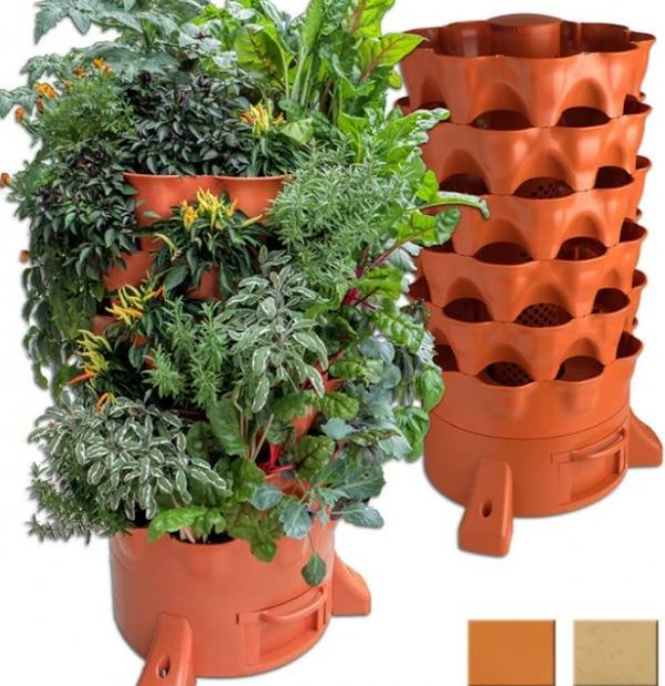 garden tower and composter